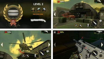 Fire Sniper Combat: FPS 3D Shooting Game