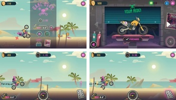 Wheelie Cross - Motorbike Game