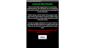 Droid Mind Reading TRICK