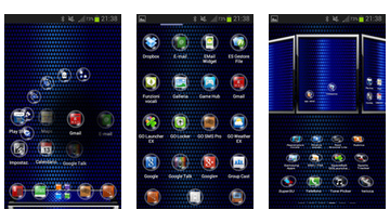 Sphere Next Launcher Theme 3D