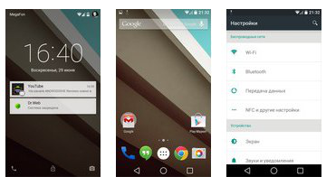 Огляд Android L