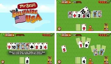Mr Bean Solitaire Adventures - A Fun Card Game