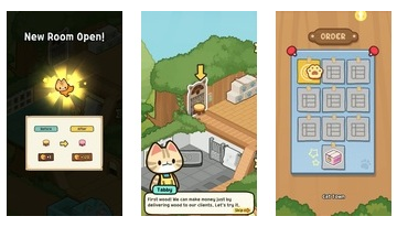 Idle Cat Tycoon: Furniture Craft Shop