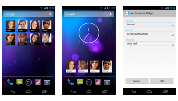 Holo Contacts Widget
