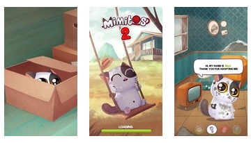 My Cat Mimitos 2 - Virtual pet with Minigames